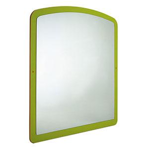 Specchio lungo sagomato