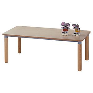 Tavolo rettangolare gamba legno